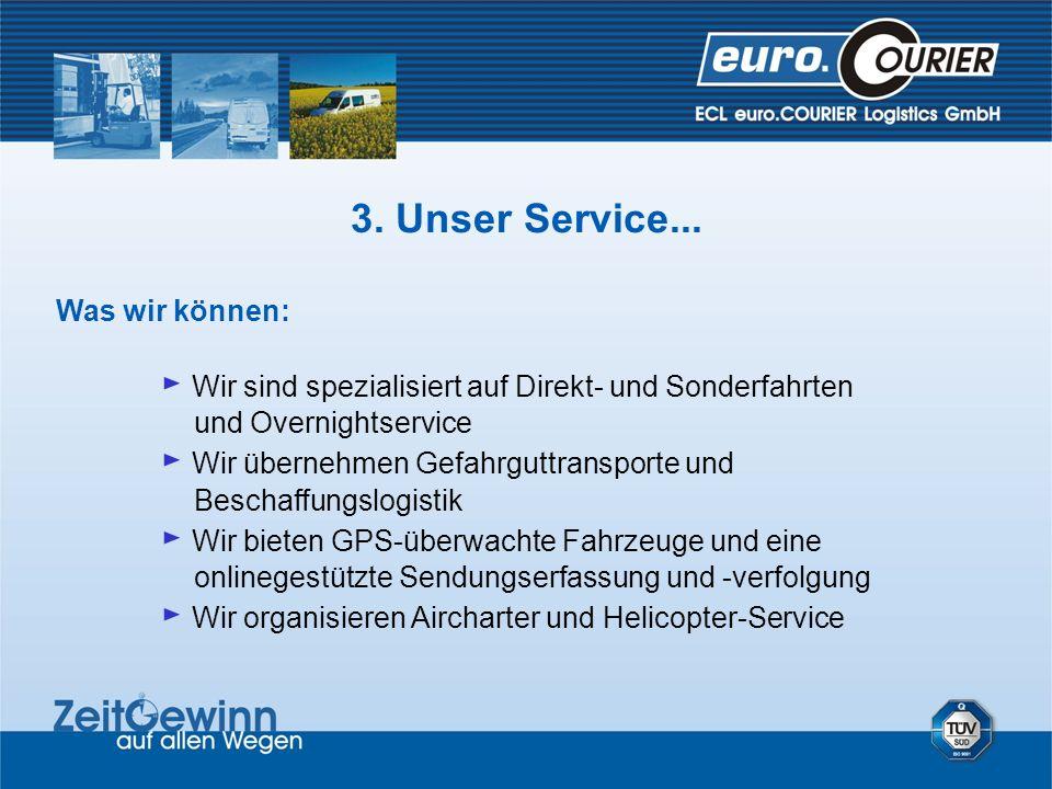 Was wir können: Wir sind spezialisiert auf Direkt- und Sonderfahrten und Overnightservice Wir übernehmen Gefahrguttransporte und Beschaffungslogistik