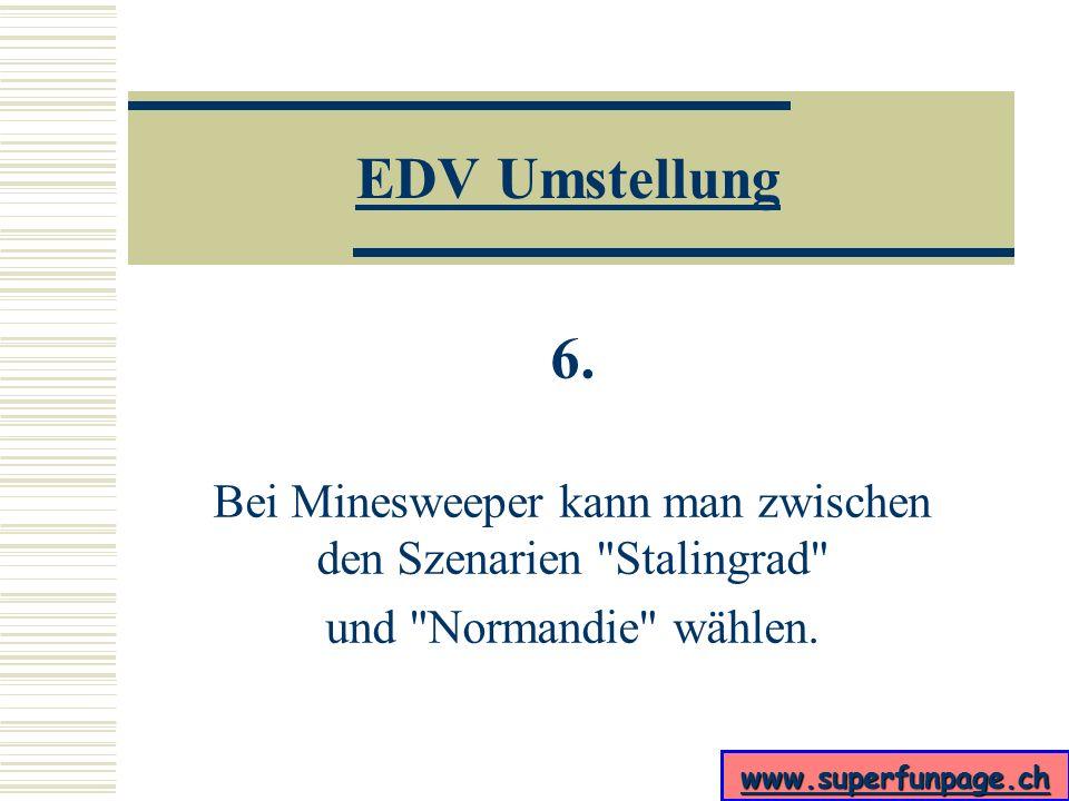www.superfunpage.ch EDV Umstellung 5. Als besonderen Service gibt es die Lifetime-Garantie.