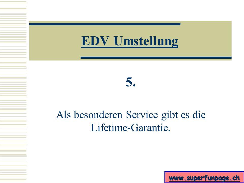 www.superfunpage.ch EDV Umstellung 4. Die voreingestellte Startseite ist http://www.zdf.de.
