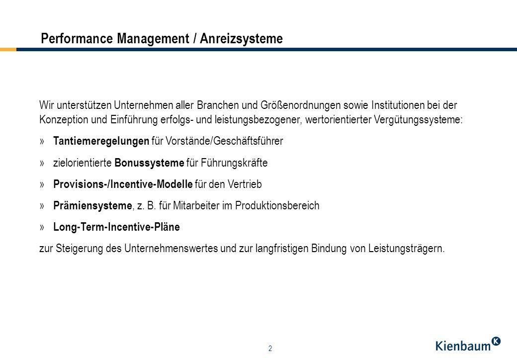 3 variable Ver- gütung bei 100% Zieler- reichung Grund- gehalt Unternehmensziele » Wertkennzahlen und Renditekennzahlen, z.B.