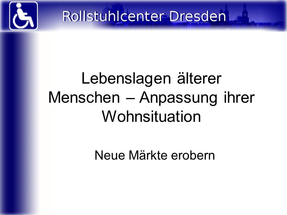 Alterspyramide in Deutschland: 2009 Quelle: statistisches Bundesamt Anzahl der >65Jährigen: 16,2Mio = ca.