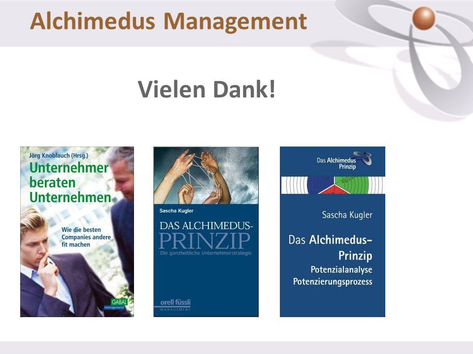 Alchimedus Management Vielen Dank!