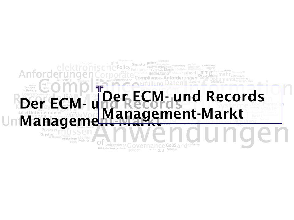 Der ECM- und Records Management-Markt