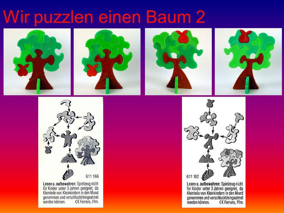 Wir puzzlen einen Baum 2