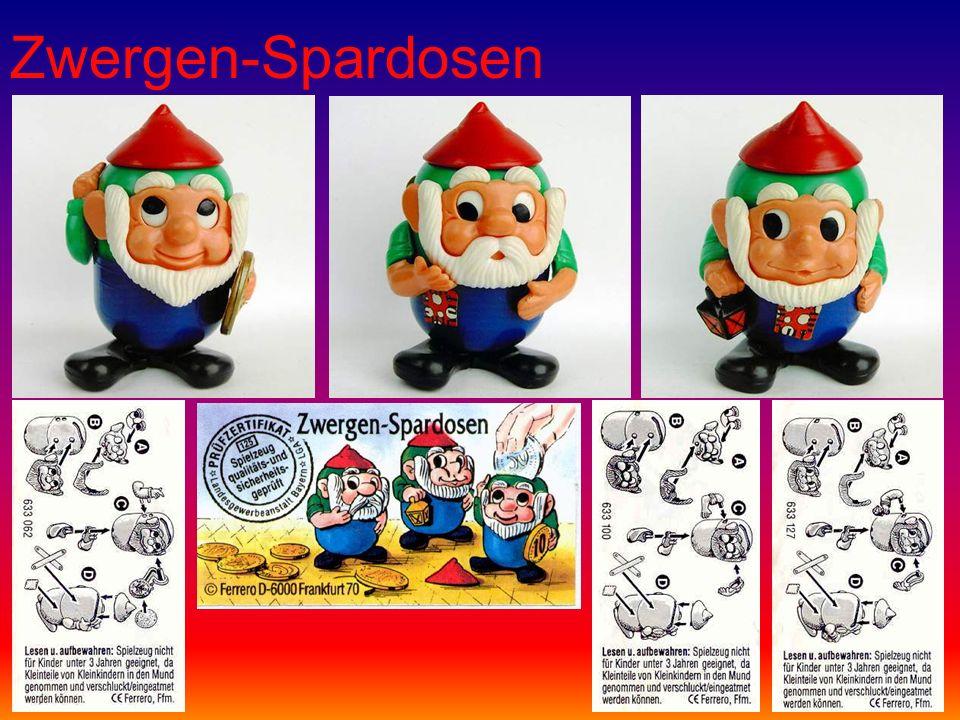 Zwergen-Spardosen