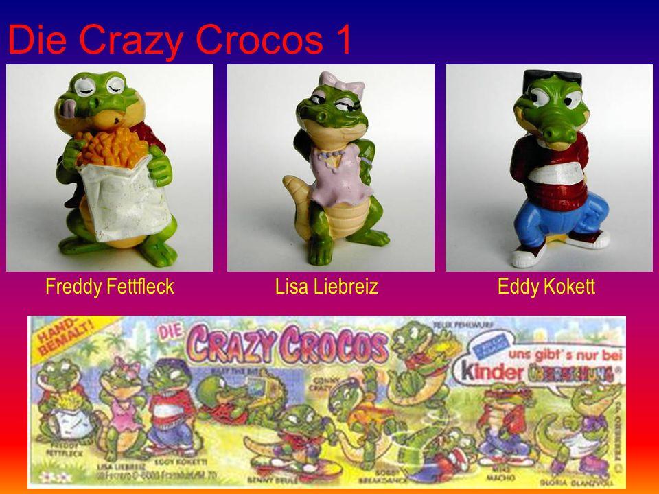 Die Crazy Crocos 1 Freddy FettfleckLisa LiebreizEddy Kokett