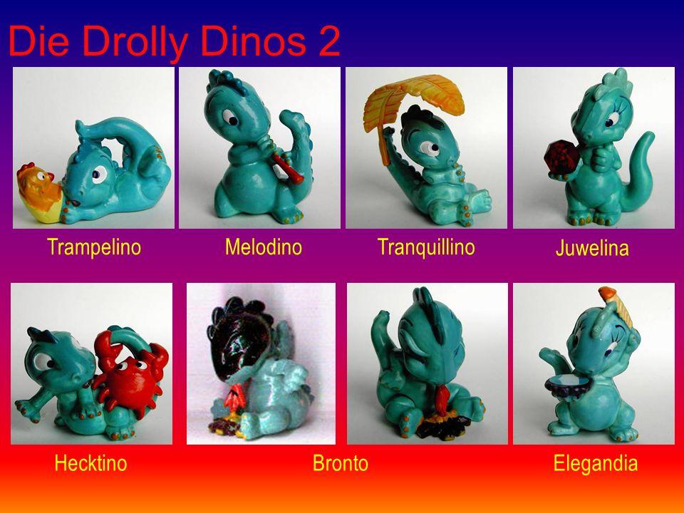 Die Drolly Dinos 2 TrampelinoMelodinoTranquillino Juwelina HecktinoBrontoElegandia