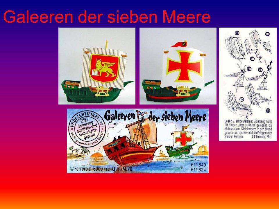 Galeeren der sieben Meere