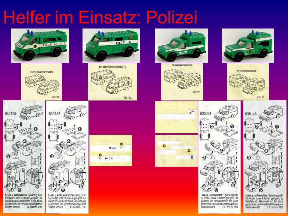 Helfer im Einsatz: Polizei