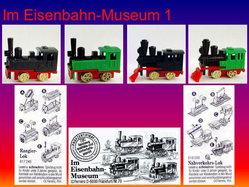Im Eisenbahn-Museum 1