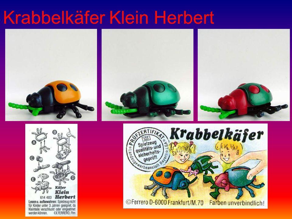 Krabbelkäfer Klein Herbert
