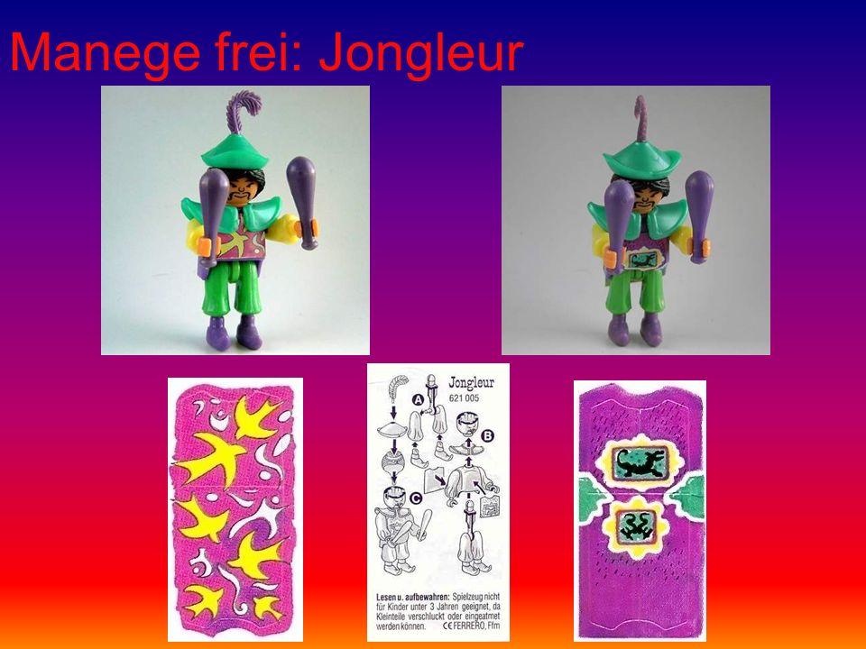 Manege frei: Jongleur