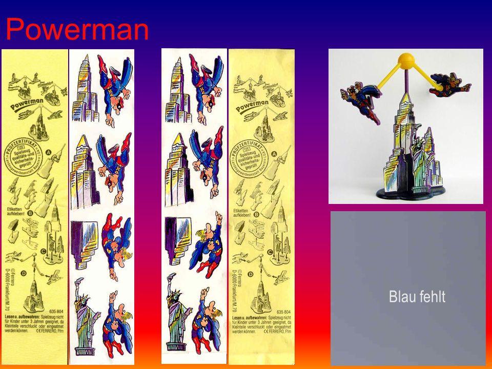 Powerman Blau fehlt