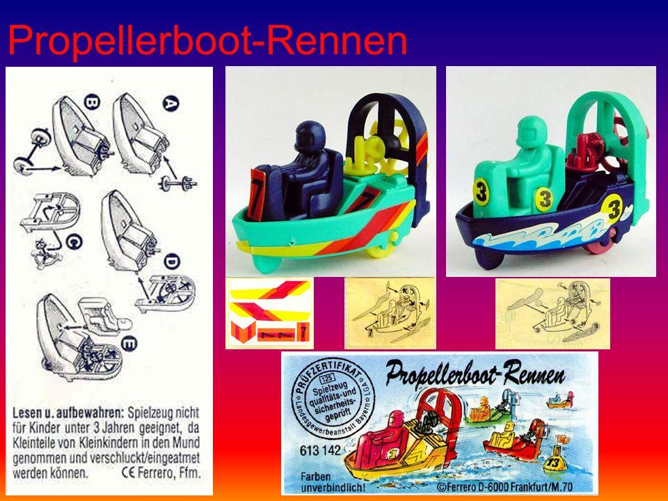 Propellerboot-Rennen