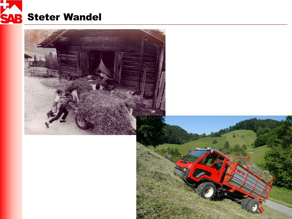 Steter Wandel