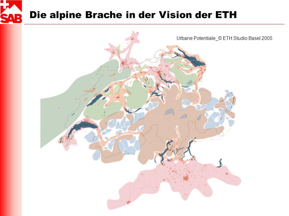Die alpine Brache in der Vision der ETH Urbane Potentiale_© ETH Studio Basel 2005