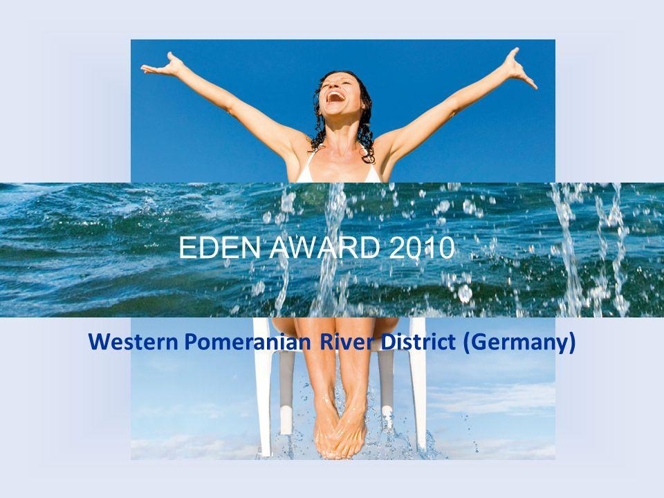 Die Tourismusregion Vorpommersche Flusslandschaft bewarb sich um den............