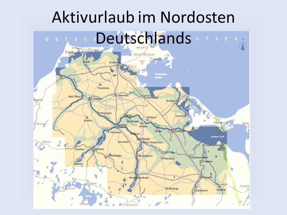 Aktivurlaub im Nordosten Deutschlands