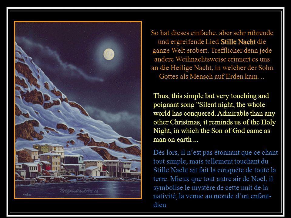 All diese Ereignisse fachten den Glauben der Christen an; somit wird die Geburt Jesu seit Jahrhunderte in allen Kirchen gefeiert. All these events fan