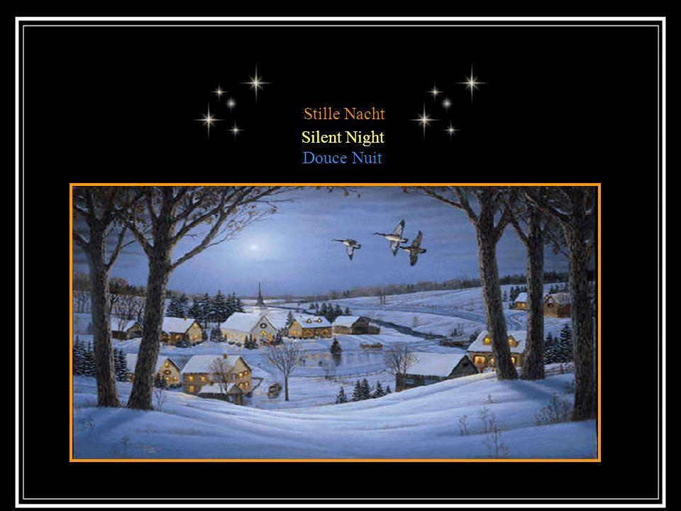 Stille Nacht Sonderbar ist auch, dass alle traditionellen Weihnachtslieder schon vielfach abgeändert wurden, aber Stille Nacht blieb unbetastet und rein in Form und Struktur.