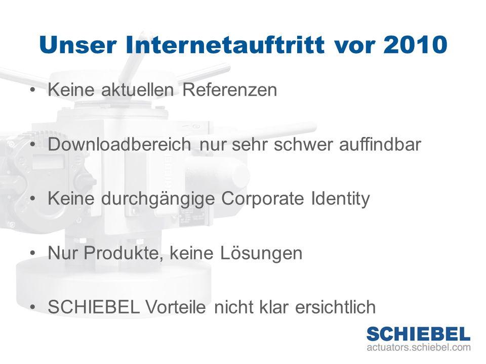 Relaunch 2010 Unser Ziel: Innovativ Modern Vernetzt Kundenorientiert