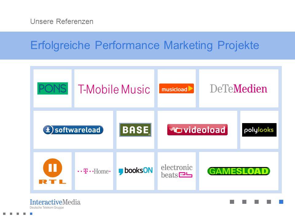 Erfolgreiche Performance Marketing Projekte Unsere Referenzen T-Mobile Music