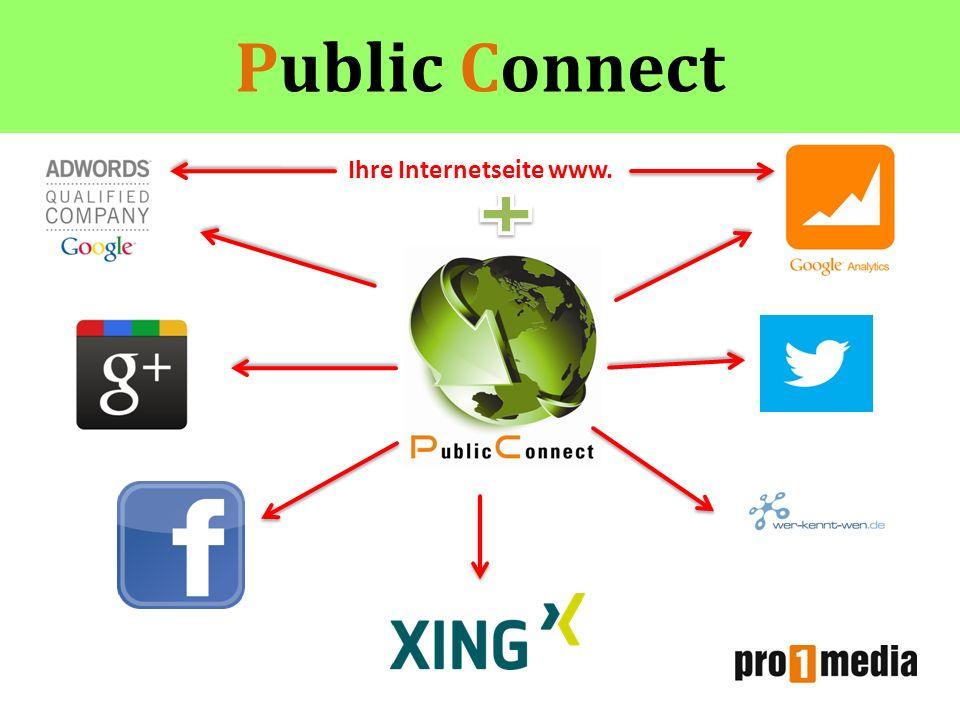 Public Connect Ihre Internetseite www.