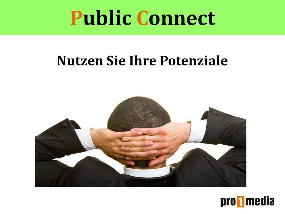 Public Connect Nutzen Sie Ihre Potenziale