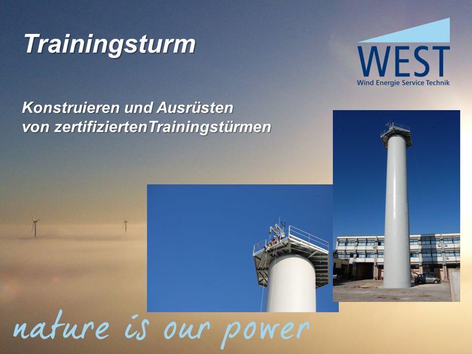 Trainingsturm Konstruieren und Ausrüsten von zertifiziertenTrainingstürmen