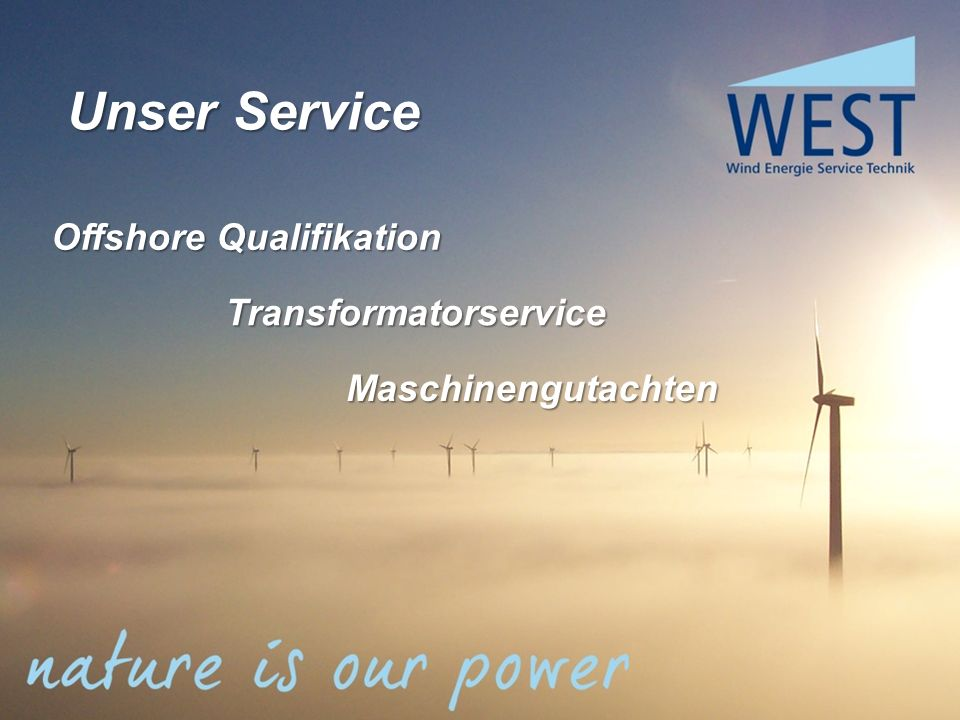 Transformatorservice Maschinengutachten Offshore Qualifikation Unser Service