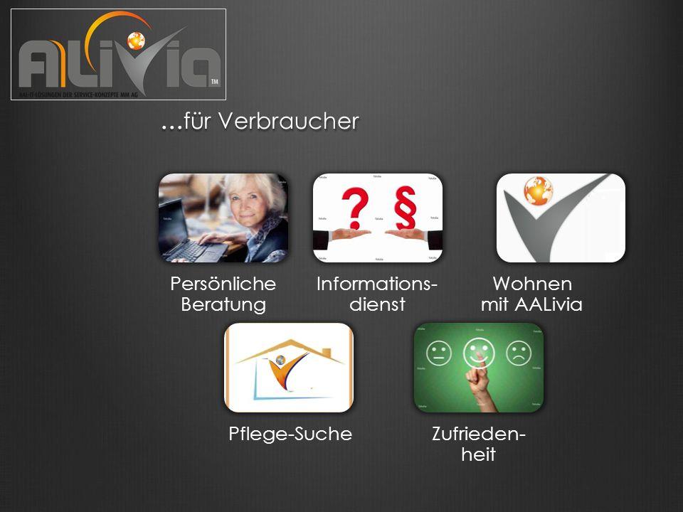 ...für Verbraucher: wohnen mit AALivia...