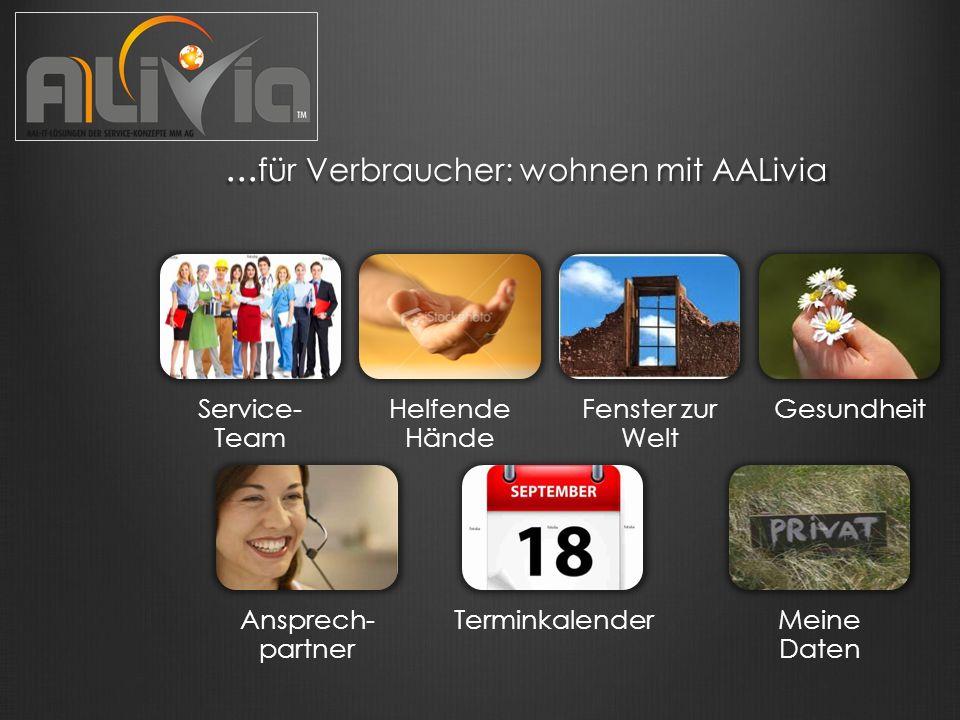 ... für Verbraucher: wohnen mit AALivia...
