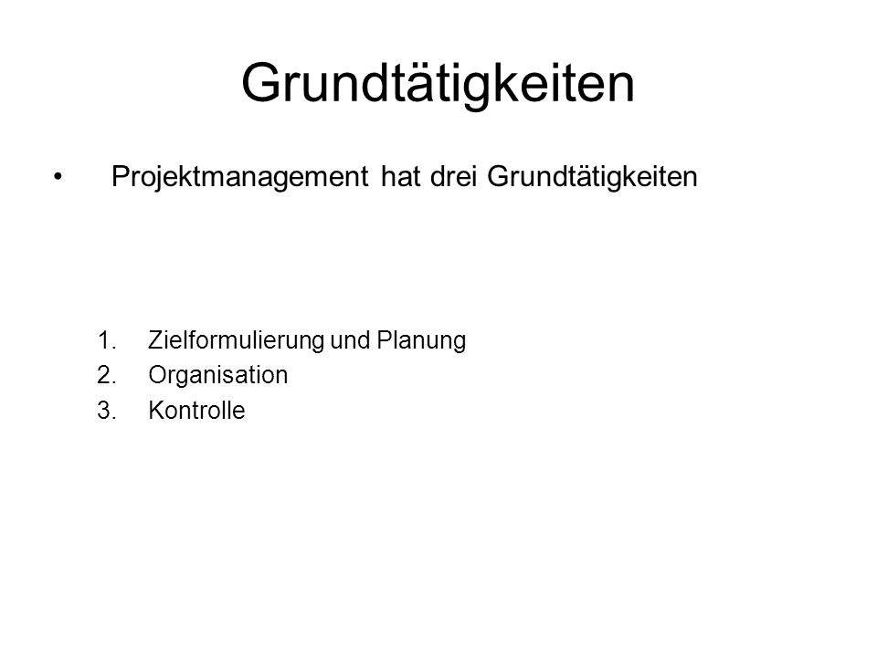 Projektmanagement Komplex.Der Umwelt Komplex. D.