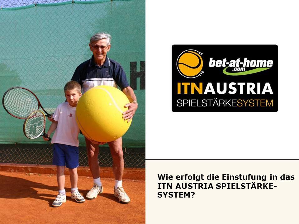 Wie erfolgt die Einstufung in das ITN AUSTRIA SPIELSTÄRKE- SYSTEM?