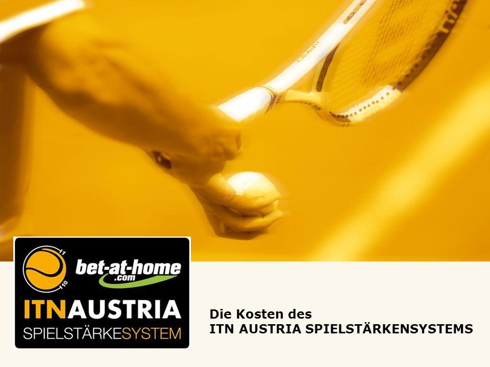 Die Kosten des ITN AUSTRIA SPIELSTÄRKENSYSTEMS