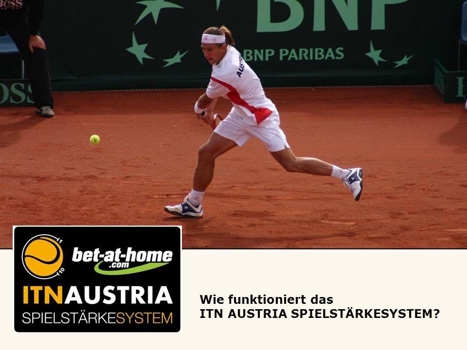 Wie funktioniert das ITN AUSTRIA SPIELSTÄRKESYSTEM?