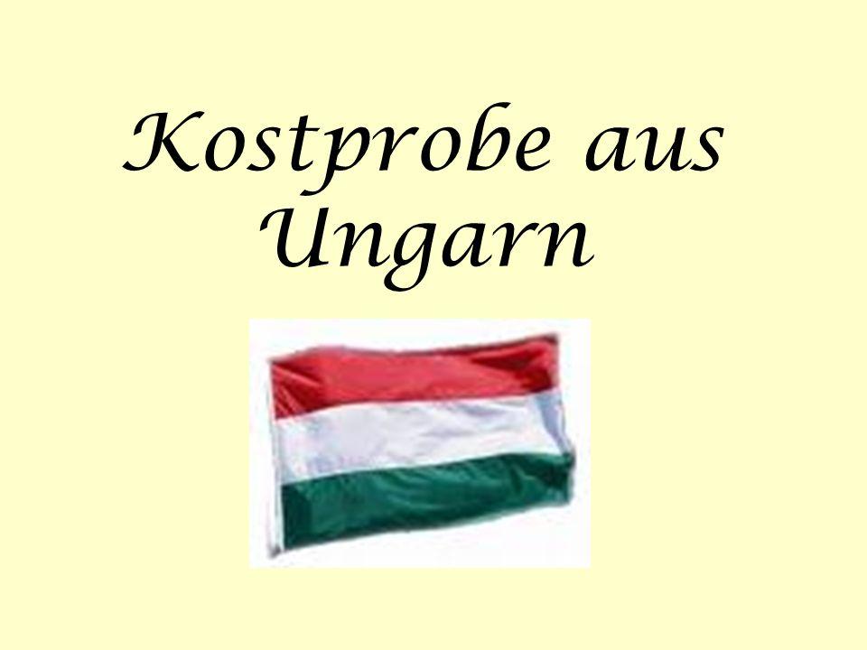 Kostprobe aus Ungarn