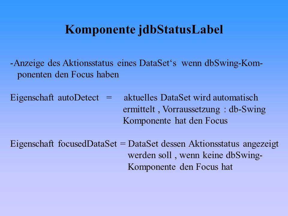 Editoren- und Renderer-Klassen II - Die Klasse DefaultCellEditor II - private void jbInit() throws Exception {...