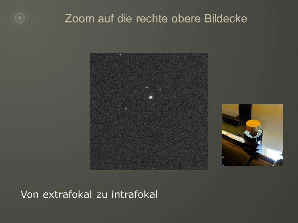 Zoom auf die rechte obere Bildecke Von extrafokal zu intrafokal