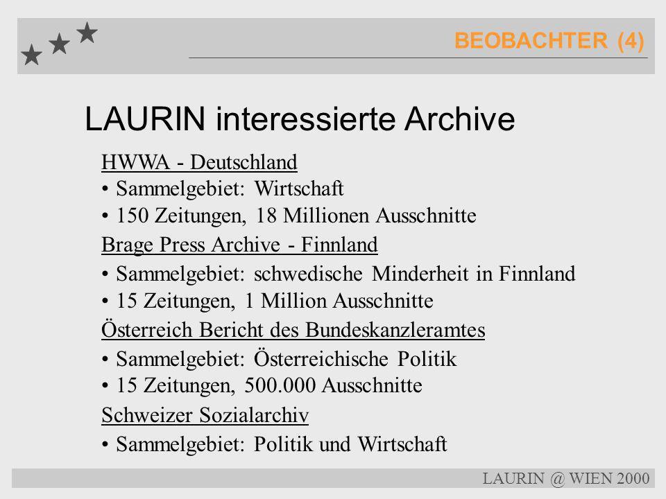 LAURIN Archive und Bibliotheken TEILNEHMER (3) Nationalbibliothek Norwegen Sammelgebiet: biographische Artikel über Norweger abgeschlossene Sammlung,