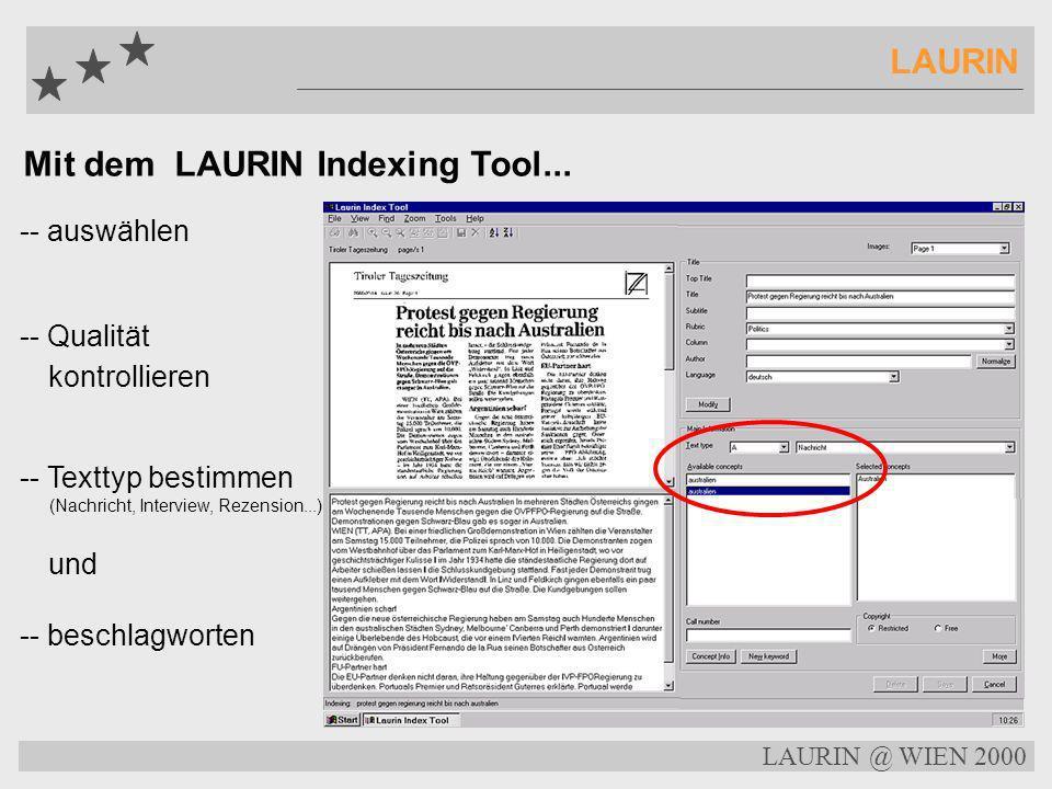 LAURIN @ WIEN 2000 LAURIN Entschuldigung im Bundestag für Spendenaffäre Schäuble: CDU hat gegen Gesetze verstoßen Parteivorsitzender räumt auch eigene