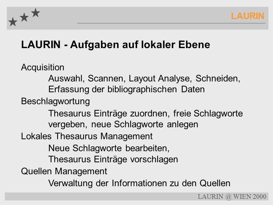 LAURIN @ WIEN 2000 LAURIN Bibliographischer Index TitleSchäuble: CDU hat gegen Gesetze verstoßen Subtitle:Parteivorsitzender räumt auch eigene Fehler