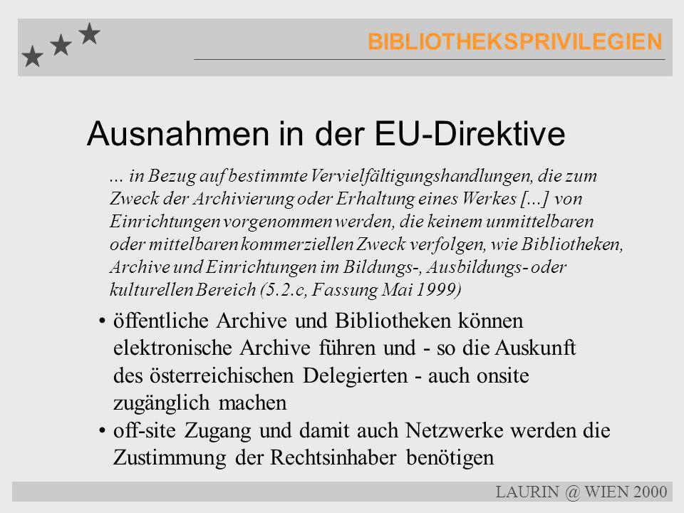 Elektronisches Archivieren COPYRIGHT Ein elektronisches Archiv braucht die Zustimmung der Rechtsinhaber Wer aber ist der Eigentümer eines Zeitungsarti