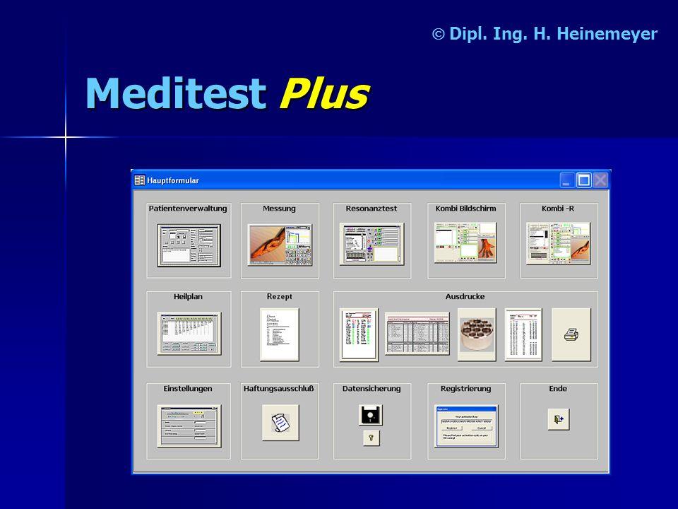 MeditestPlus Dipl. Ing. H. Heinemeyer
