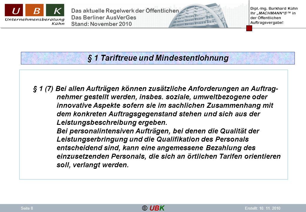 Dipl.-Ing.Burkhard Kühn Ihr MACHMANN® in der Öffentlichen Auftragsvergabe.