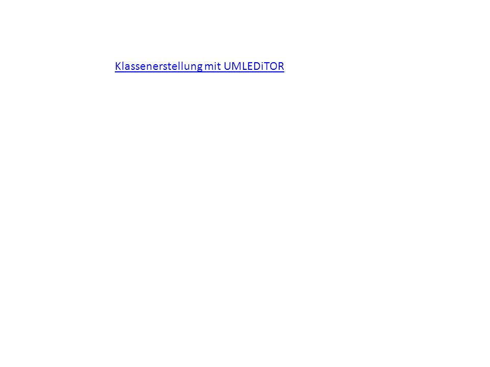 Implementationsdiagramm Löbbert, Marl 2011/1217 Ein Implementationsdiagramm ergibt sich durch Präzisierung eines Entwurfsdiagramms und orientiert sich stärker an der verwendeten Programmiersprache.