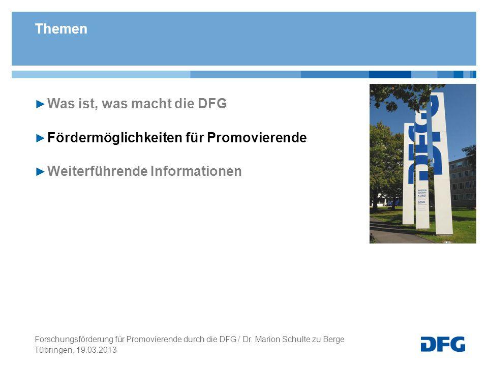 Tübringen, 19.03.2013 Antragsberechtigt: Wissenschaftler/innen an deutschen Forschungseinrichtungen mit abgeschlossener wissenschaftlicher Ausbildung (Promotion) die in Deutschland leben und arbeiten (möchten).