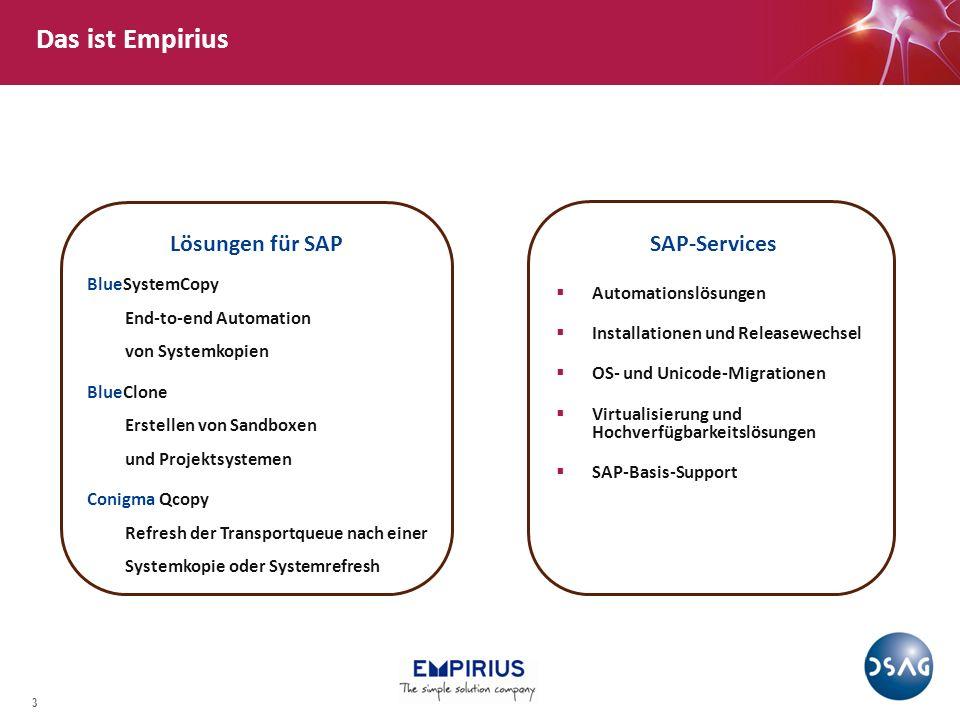 4 Marcus Bogenstätter Verantwortet die Entwicklung bei Empirius 16+ Jahre Erfahrung im Bereich SAP-Basis Zertifizierter SAP Technology Consultant Netweaver Zu meiner Person