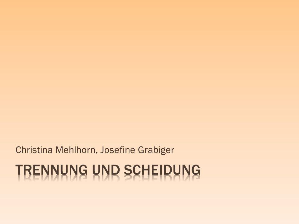 Christina Mehlhorn, Josefine Grabiger