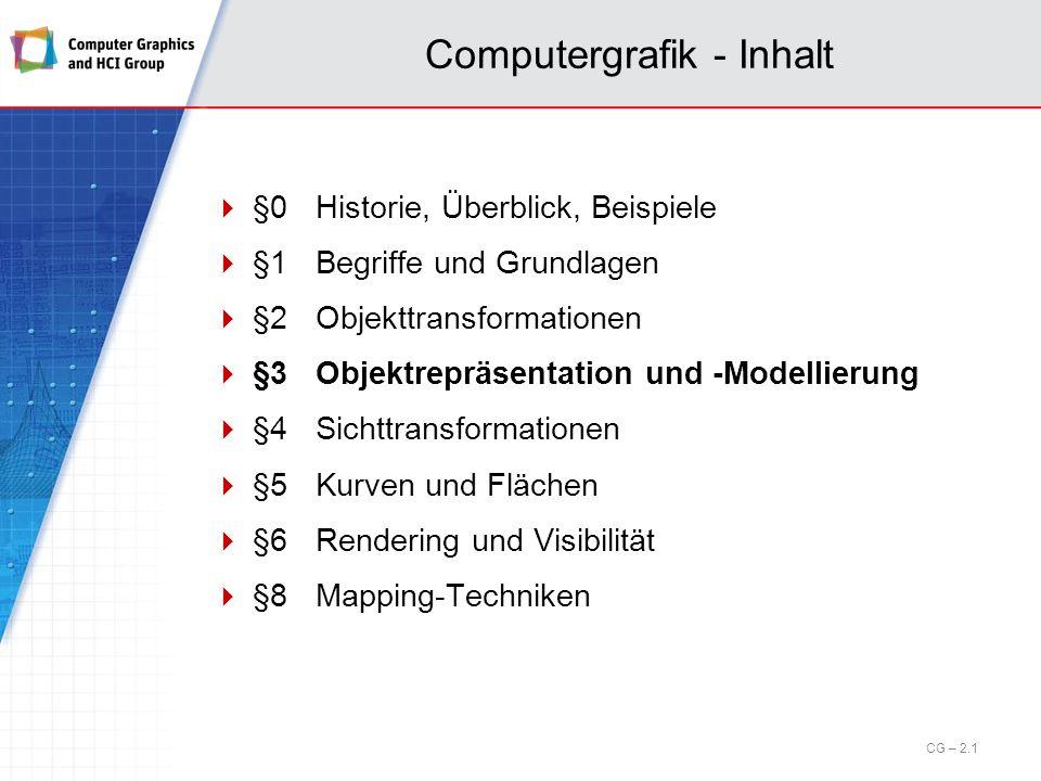 3.4 Raumteilungsverfahren Octrees Ein Octree ist eine hierarchische Datenstruktur zur effizienten Speicherung einer ungleichmäßigen Unterteilung des 3D-Raums.